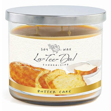 3-Wick Candle - Butter Cake