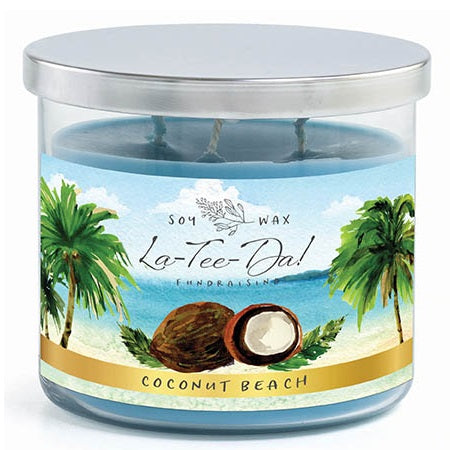 Coconut Beach - 3-Wick Candle
