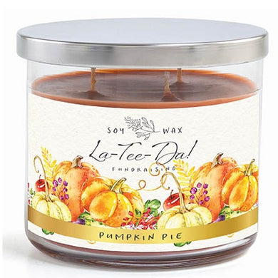3-Wick Candle - Pumpkin Pie