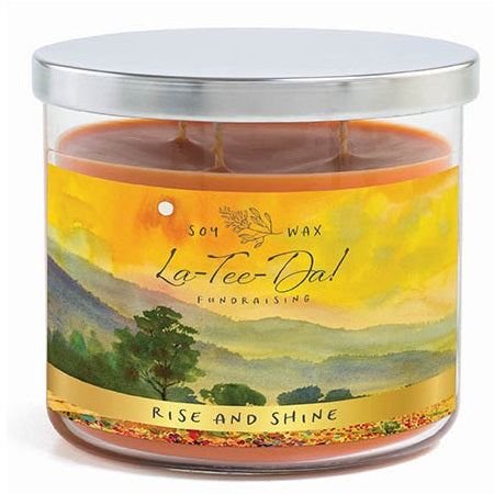 3-Wick Candle - Rise & Shine
