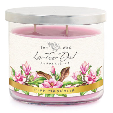 3-Wick Candle - Pink Magnolia