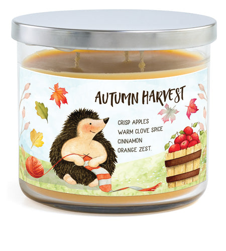 3-Wick Candle - Autumn Harvest