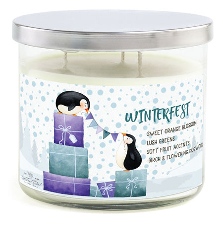 3-Wick Candle - Winterfest