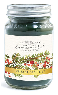 Christmas Tree - Mason Jar