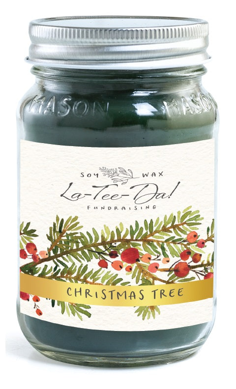 Mason Jar - Christmas Tree