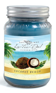 Coconut Beach - Mason Jar