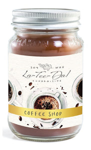 Coffee Shop - Mason Jar
