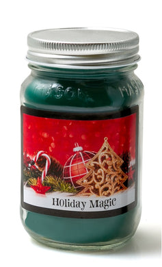 Holiday Magic - Christmas Mason Jar