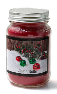 Jingle Bells - Christmas Mason Jar
