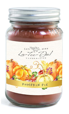 Pumpkin Pie - Mason Jar