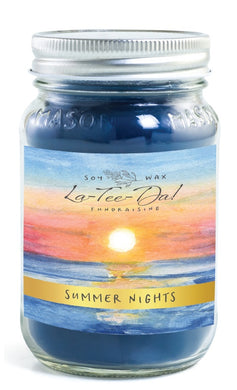 Summer Nights - Mason Jar