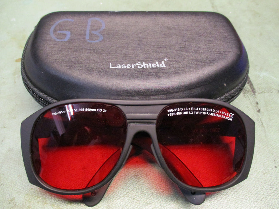 Lasershield Safety Goggles Set - USED - 1 set available