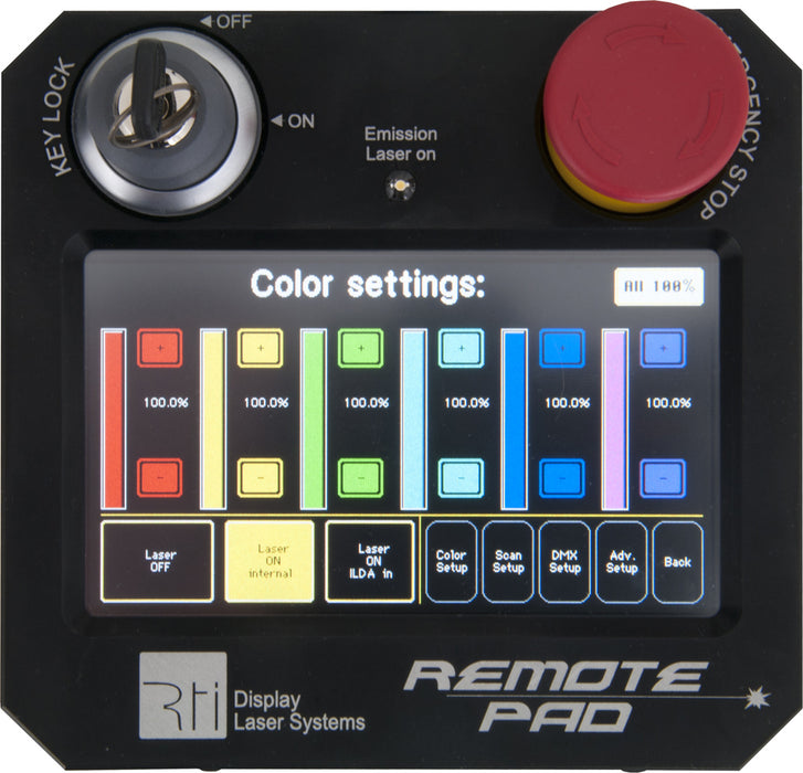 RTI Remote Pad – used, only 1 unit available