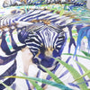 Dropshipful Zebra Duvet Cover Set 3 Pcs Watercolor Exotic Wild Animal Nature Bedding Set - Dropshipful.com