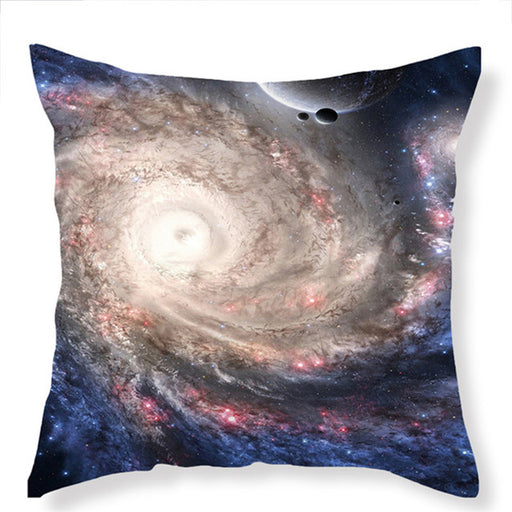 3D Galaxy Cushion Cover Close to Galaxy Realize Your Dream Easier Pillow Cover Soft for Sofa - Dropshipful.com