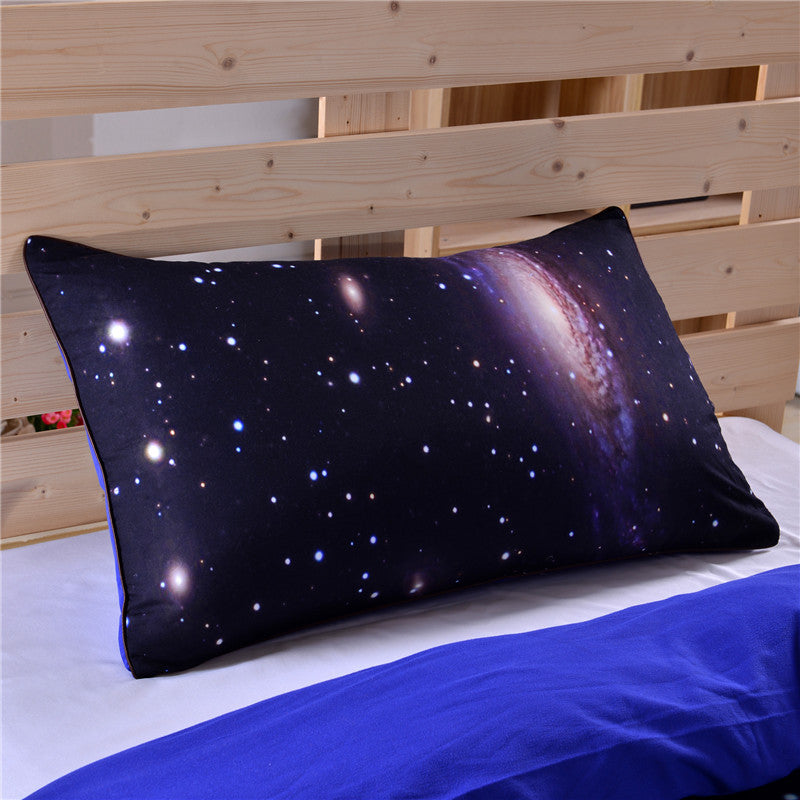 Dropshipful Hipster Galaxy Bedding Set Universe Outer Space Themed 3d Print Duvet Cover with Pillowcases - Dropshipful.com