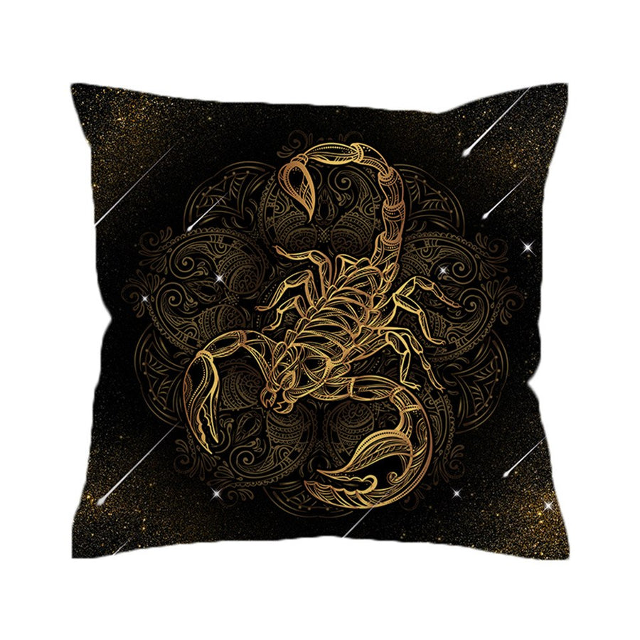 Scorpion Cushion Cover Meteor Scorpio Pillowcase for Sofa Boho Throw Cover  Decorative Pillow Cover - Dropshipful.com