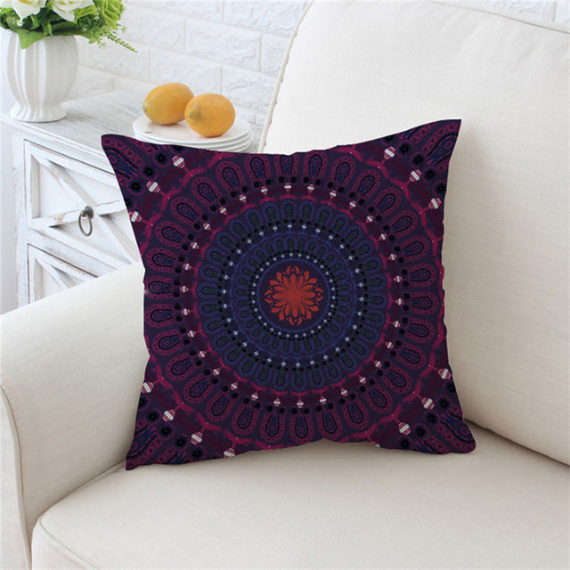 Concealed Cushion Cover Bohemian Car Seat Luxury Throw Pillow Covers Boho Pillow Case - Dropshipful.com