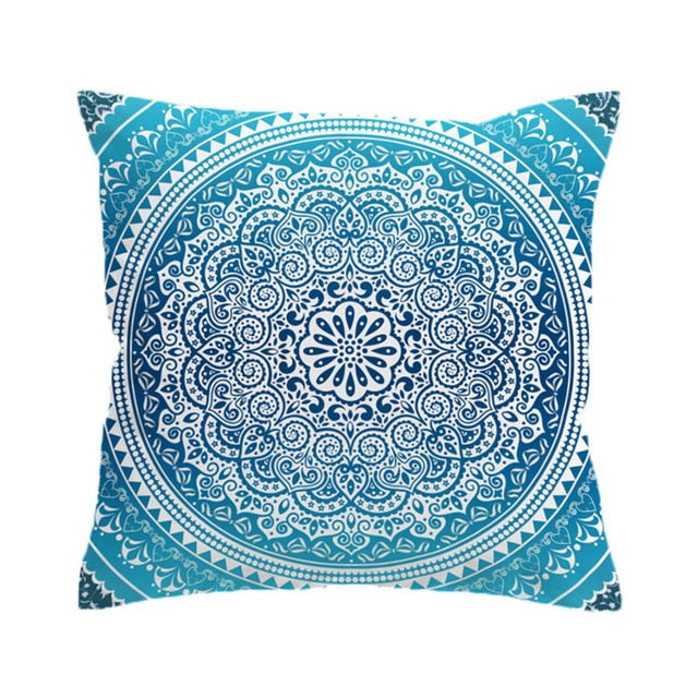 Dropshipful Bohemian Style Cushion Cover Crystal Arrays Pillowcase Boho Soft Microfiber Home Decor 45cmx45cm 70cmx70cm - Dropshipful.com
