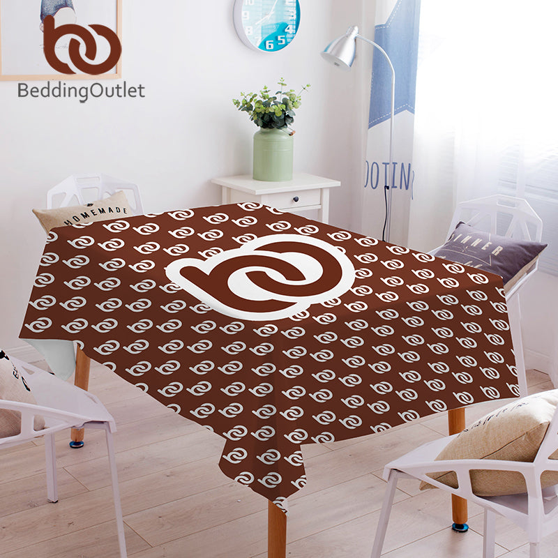 Dropshipful Custom Made Tablecloth Waterproof Dinner Table Cloth DIY Photo Design Customized Home Decor Washable Table Cover - Dropshipful.com