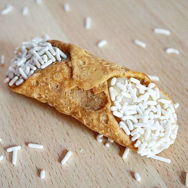 White Chocolate Cannoli