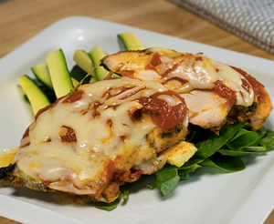 Chicken Parm Low Carb