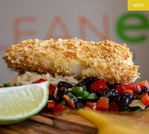 Coconut Panko Crusted Cod