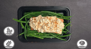"KETO-FRIENDLY SPICY MAYO ""STREET"" SALMON"
