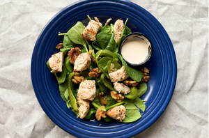 Keto Baby Spinach & Chicken