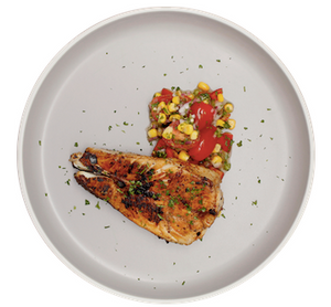 Blackened Cod & Summer Corn Salad