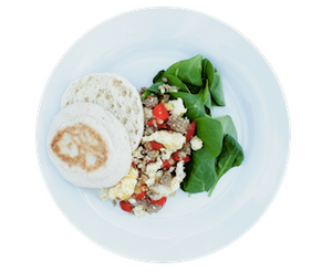 Egg White Scramble