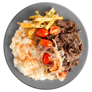 Athlete Barbacoa Beef with Yuca Mash