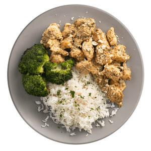Athlete Cashew Chicken with Broccoli and Rice