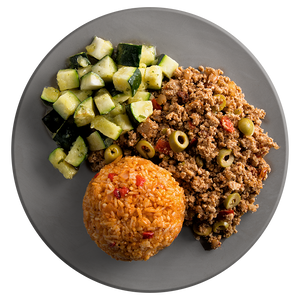 Athlete Turkey Picadillo with Cuban Rice