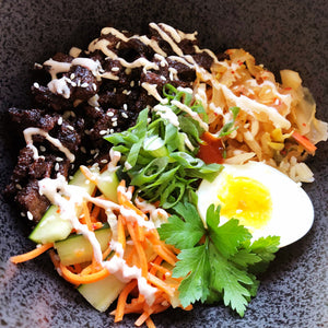 """Bibimbap"" Korean Rice Bowl"