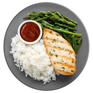 Bodybuilder's Essential with White Rice