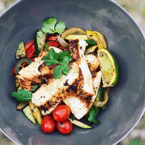 Grilled Chicken Fajita Bowl