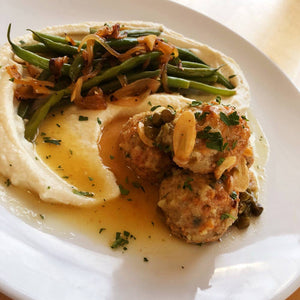 Chicken & Turkey Piccata Meatballs