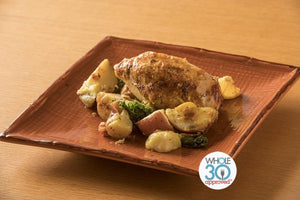 Summer Season Slow-Roasted Chicken