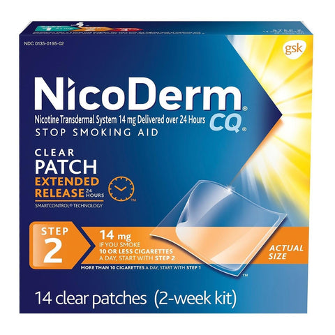 Quit Smoking Nicoderm Cq Step 2 Patch