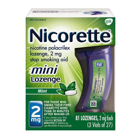 Quit Smoking Nicorette mini Lozenge