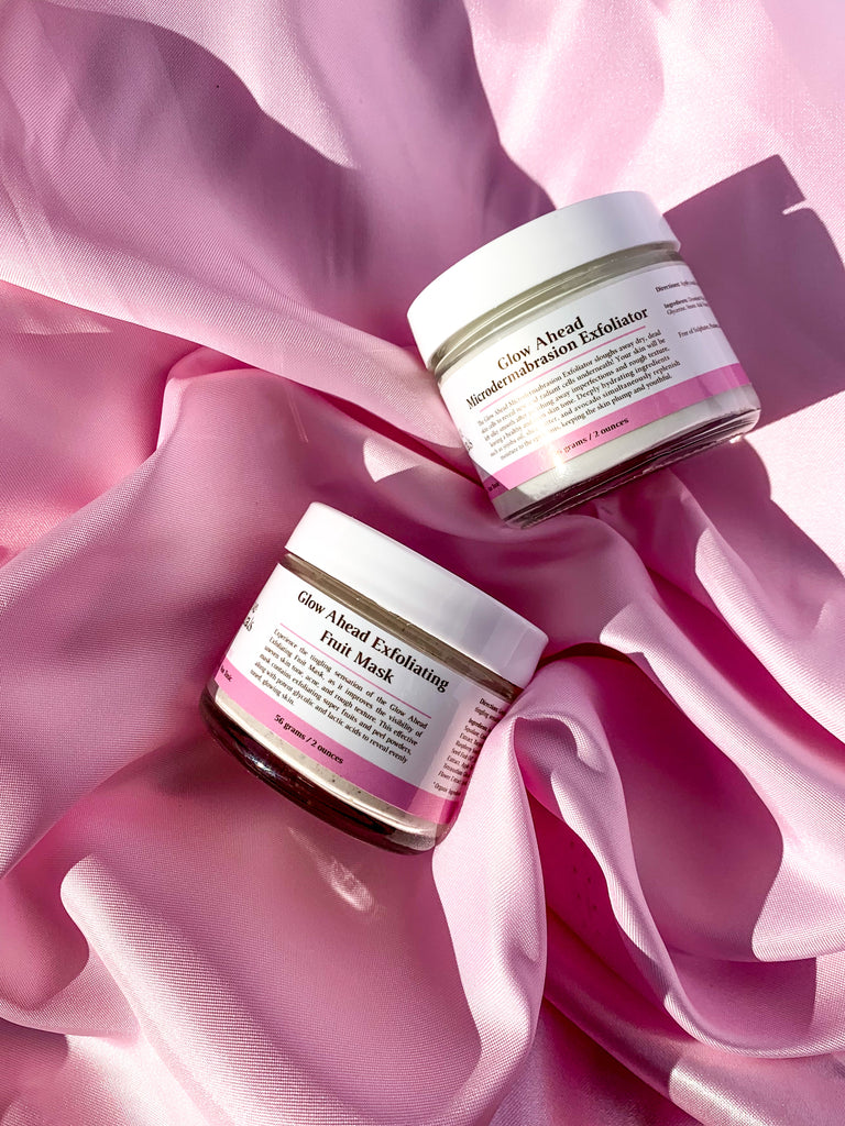 Glow Ahead Mask & Exfoliator Set