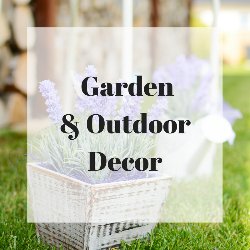 Garden & Outdoor Decor