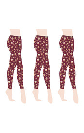 Holiday Leggings - Gingerbread Man