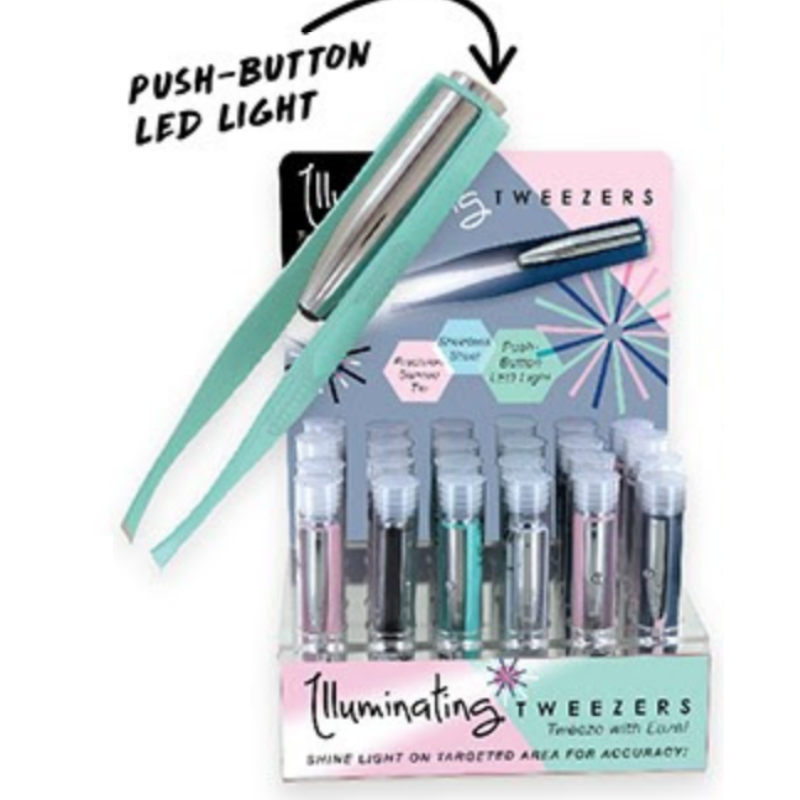 Lighted Tweezers - Retro Colors