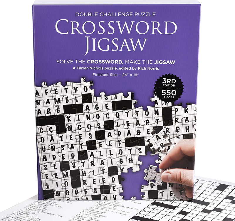 Crossword Jigsaw Puzzle 3rd Edition