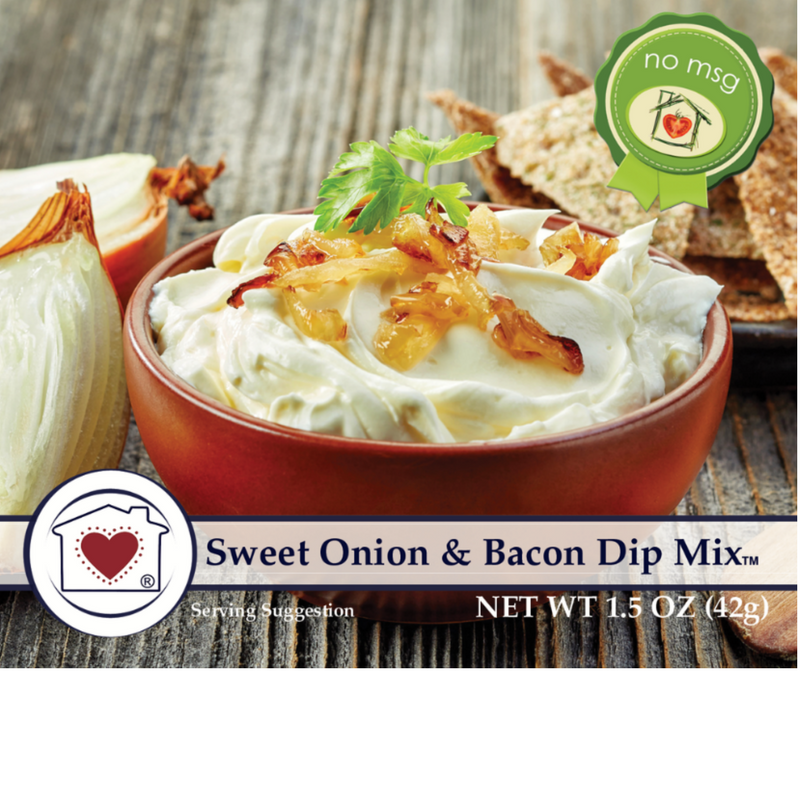Country Home Creations - White Cheddar Jalapeño Dip Mix