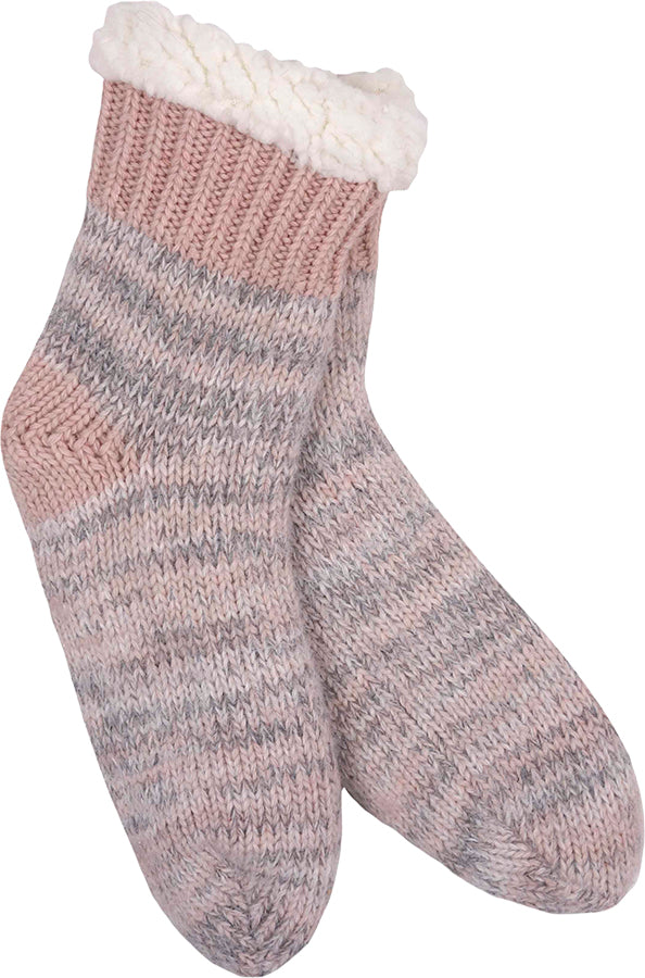 Knit Thermal Sherpa Socks