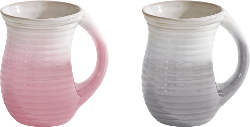 Cozy Mug - Pink or Gray