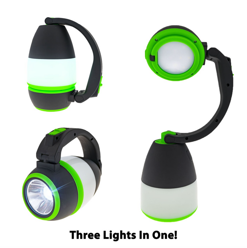 LitezAll Tri-All™ Lantern Flashlight and Desk Lamp